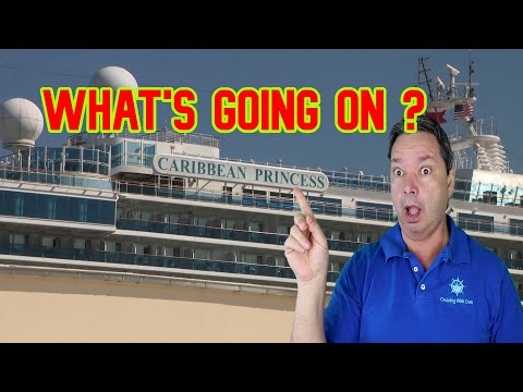 What's Wrong On The Caribbean Princess Cruise Ship