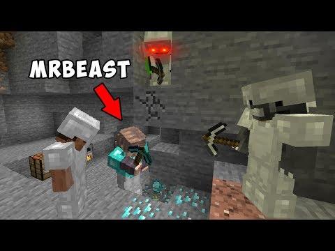 3 Minecraft Speedrunners VS Hunter ft. MrBeast