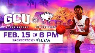 GCU Men's Basketball vs Chicago State February 15, 2020