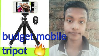 Best budget mobile tripot😱🔥