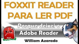 Leitor de PDF simples e rápido.