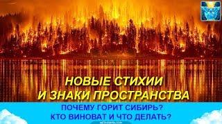 Пожары в Сибири.  Метафизические причины и знаки пространства