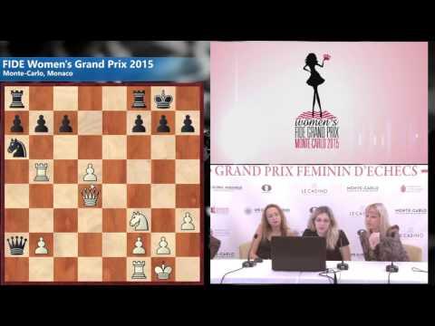 Round 7 Skripchenko Almira (FRA) 1/2 - 1/2 Stefanova Antoaneta (BUL)