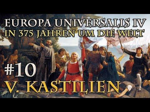 Let's Play Europa Universalis 4 – V. Kastilien #10: Doppelter Aufmarsch (In 375 Jahren um die Welt)