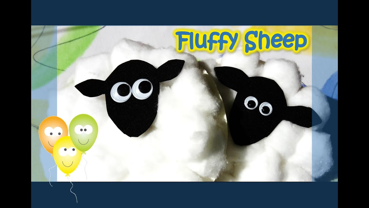 Fluffy Sheep | Paper Plate Series
