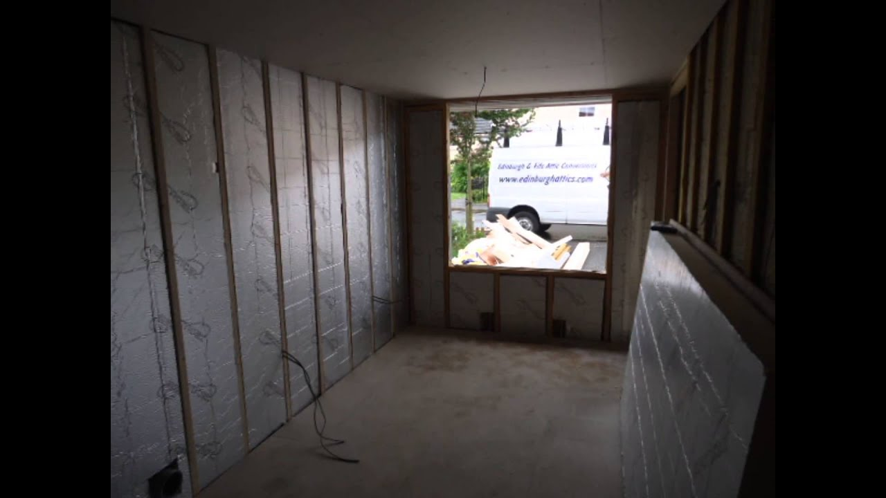Garage Conversion Hertfordshire Floating Floor New Garage Conversion Floating Floor