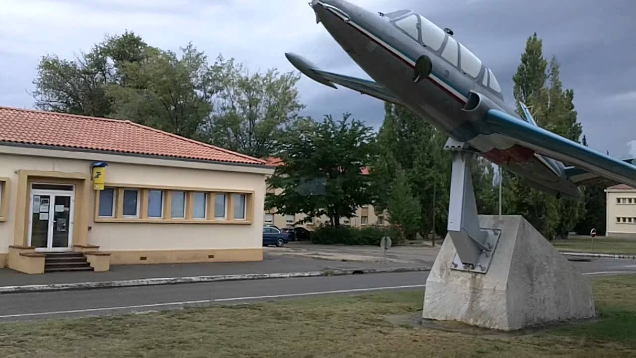 Ma journ e du patrimoine a l 39 ecole de l 39 air de salon de provence youtube - Ecole de l air de salon de provence ...