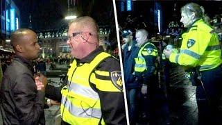 Zo ging politie te werk tijdens jaarwisseling