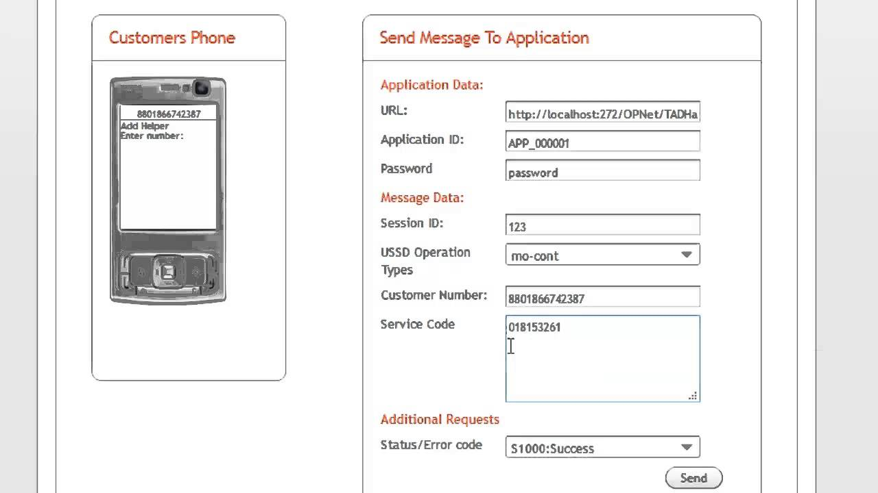 USSD App created by Creative IT Team