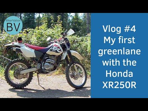 Bikervation - Greenlaning # 1 with the Honda XR250R - Blackberry Lane