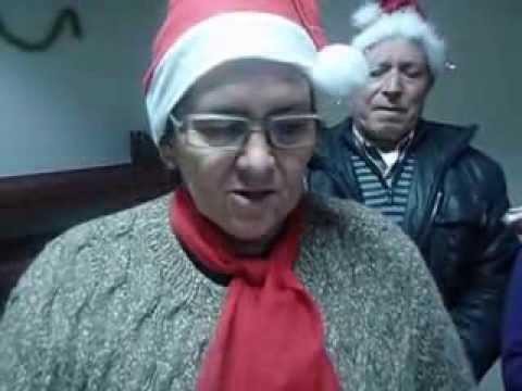 Mensagem de Natal do grupo de Vila Soeiro do Chão do Projeto Fornos Vida