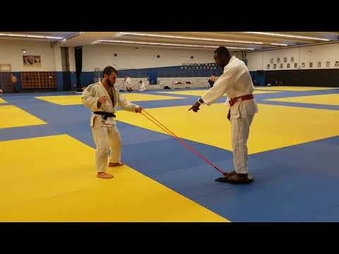 séance judo insep Luka