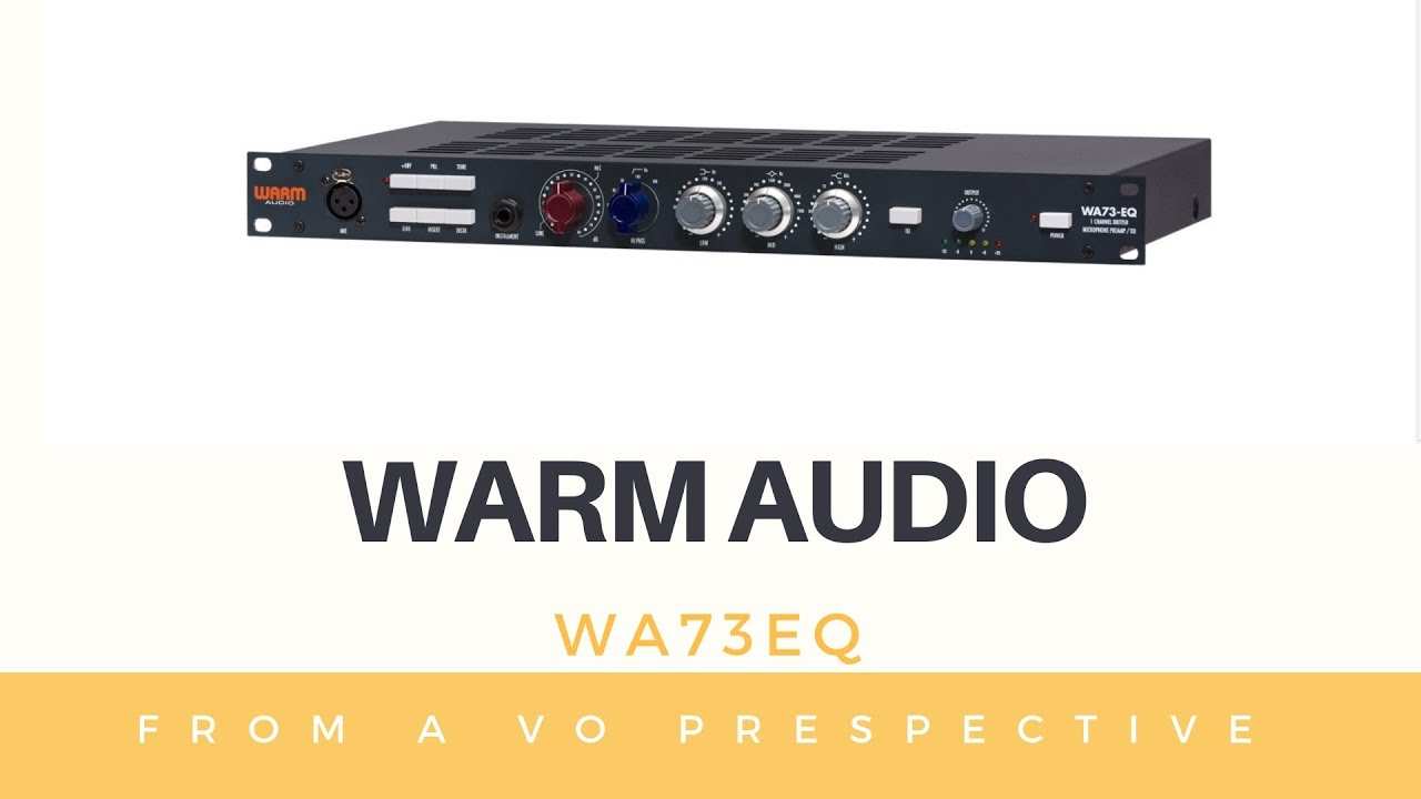 warm audio wa73eq preamp review video youtube. Black Bedroom Furniture Sets. Home Design Ideas