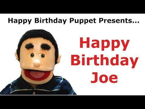 Funny Happy Birthday Joe - Birthday Song