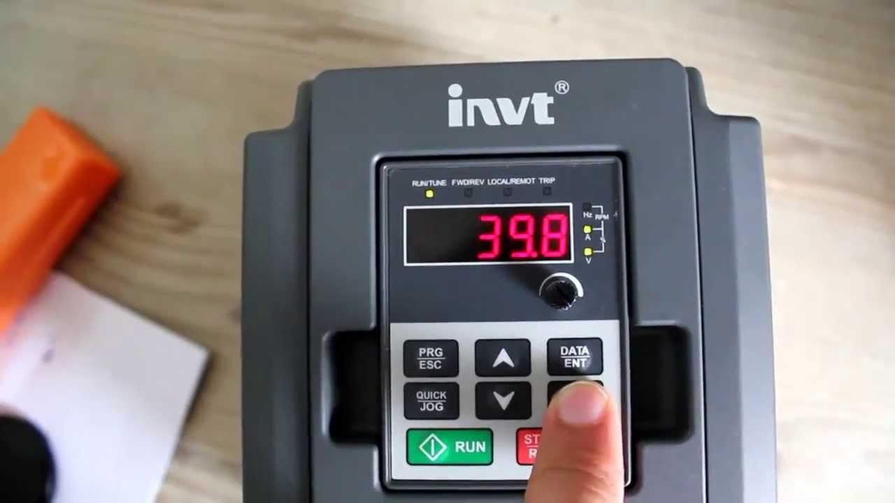 Ac Pump Wiring Invt Solar Pump Vfd Ac System Youtube