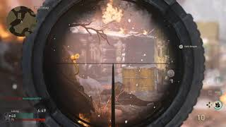 Call Of Duty WW2 Beta Sniping Montage: Day 1