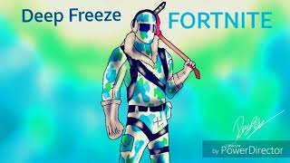 Dessin fortnite Deep Freeze