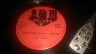 David Miller - Swing & Dine Dance All The Time
