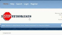 1stoptutorials New Web Design Forum For Beginners