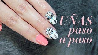 Decorar uñas con pintura acrílica: atrapasueños | facilisimo.com