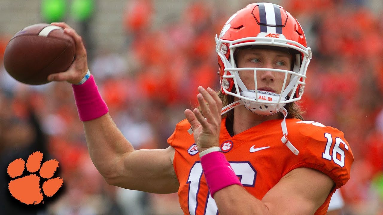 Clemson Qb Trevor Lawrence Shines In Win Over No 16 Nc State