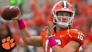 Clemson QB Trevor Lawrence Shines In Win Over No. 16 NC State