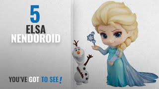 Top 10 Elsa Nendoroid [2018]: Good Smile Frozen: Elsa Nendoroid Action Figure