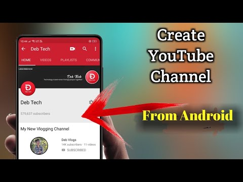 How To Create YouTube Channel From Android 🔥