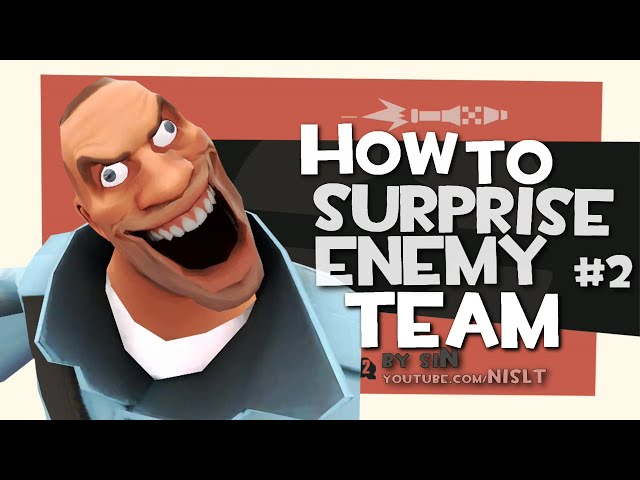 TF2: How to surprise enemy team #2 [Epic Fail]