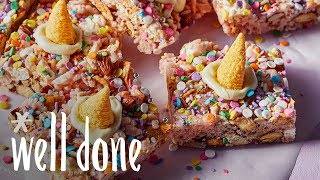 How to Make Unicorn Snack Cakes | Recipes | Well Done