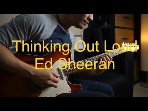 (Ed Sheeran)  Thinking Out Loud -  Electric guitar cover by Vinai T