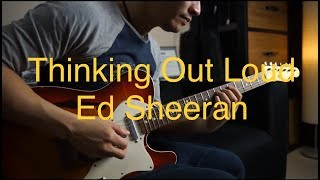 (Ed Sheeran)  Thinking Out Loud -  Electric guitar cover by Vi…