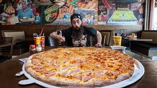 THE 36 INCH $200 PIZZA CHALLENGE | LA MiniSeries Pt.3