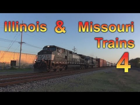 Illinois & Missouri Trains 4