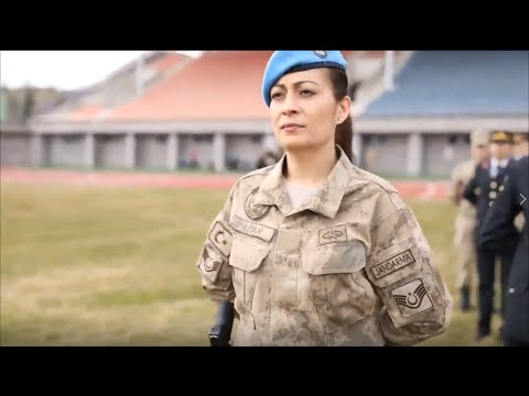 Turkish Female Soldier Montage