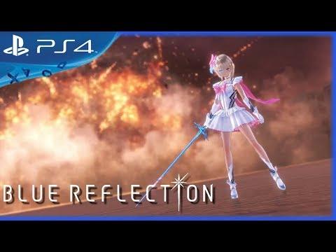 Blue Reflection (2017) Gameplay Trailer - English - PS4, PS Vita