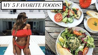 MY 5 FAVORITE FOODS! (For Skin & Body Health) | Annie Jaffrey