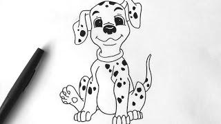 Comment dessiner 101 Dalmatiens