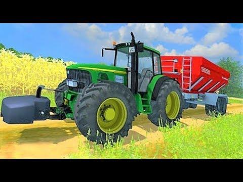 Мультфильмы для детей - #Машинки и #Трактор Ферма ...