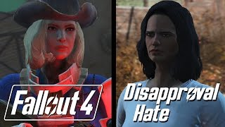 Fallout 4 - Companions Dislike Hate Death Quotes