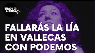 Imagen del video: El esperpéntico show de Fallarás en Vallecas con Podemos