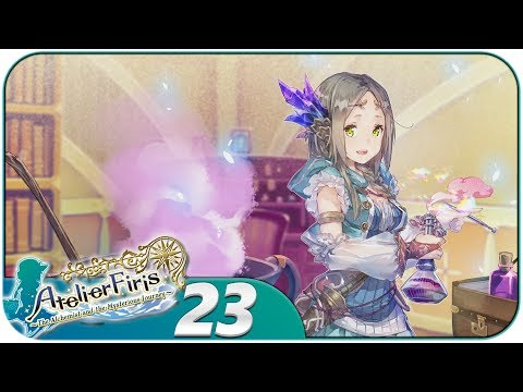 Atelier Firis (PS4, Blind, Let's Play) | 2 More Recommendation Letters! | Part 23