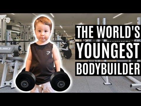 THE WORLD'S YOUNGEST BODYBUILDER | Luca Intro Compilation
