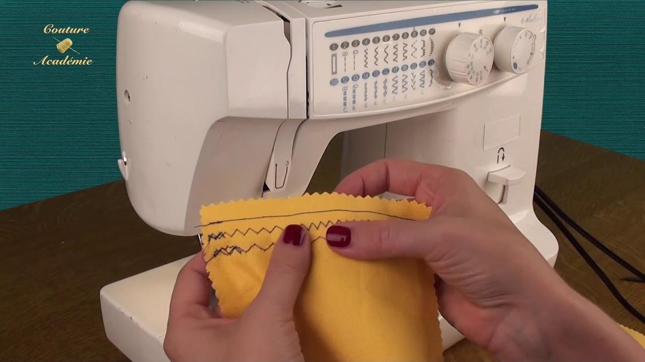 apprendre coudre basiques points machine cours de couture gratuit youtube. Black Bedroom Furniture Sets. Home Design Ideas