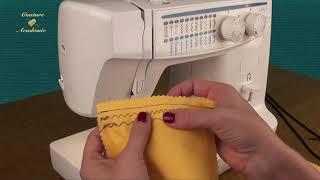 Apprendre à coudre BASIQUES POINTS MACHINE.😉🌺 Cours de couture gratuit