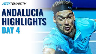 Alcaraz Plays Lopez; Fognini & Davidovich Fokina In Action | Andalucia Open 2021 Day 4 Highlights