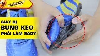 Cách tự sửa giày bóng đá bị bung keo tại nhà