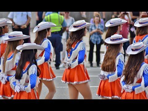 Central High School Band - San Angelo, Texas // 2017 National Memorial Day Parade in Washington DC