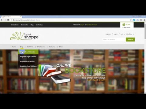 Book Store Responsive WooCommerce Theme Preview