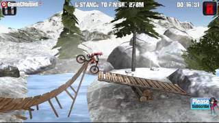 Moto Trials Winter 2 / Motor Games / Motorbike / For Children / Flash Online Gameplay Video